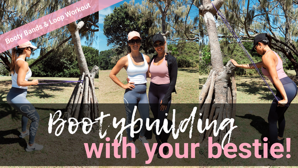 Bootybuilding with your bestie! Workouts to try with a friend