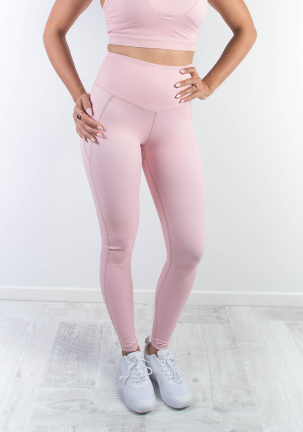 Blossom Heart Leggings - Booty Bands and Activewear