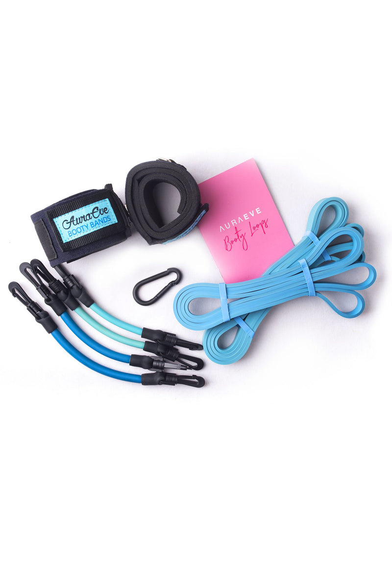 Blue Booty Bundle Set - Booty Bands and Activewear