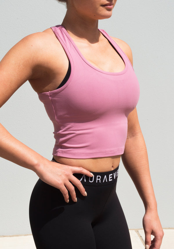 Blush Layla Singlet - Booty Bands and Activewear