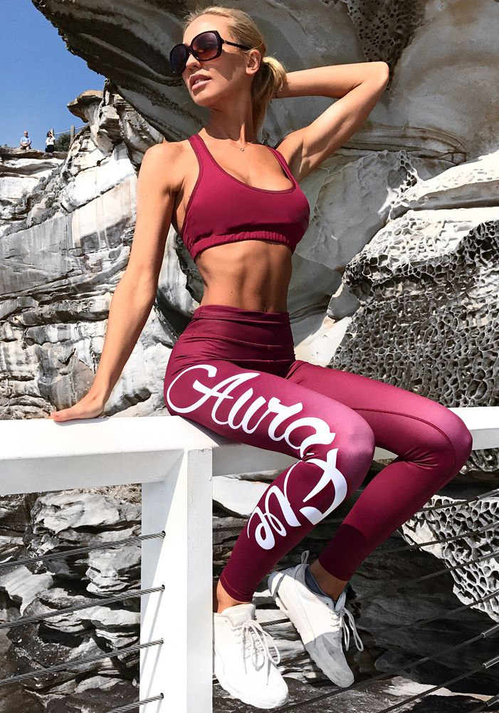Cherry Foundation Leggings - Booty Bands and Activewear