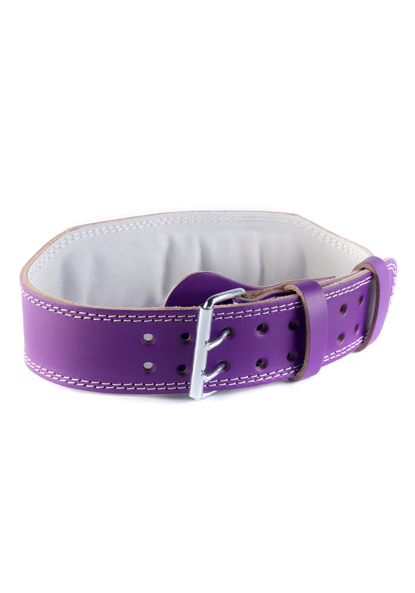Violet Leather Booty Belt