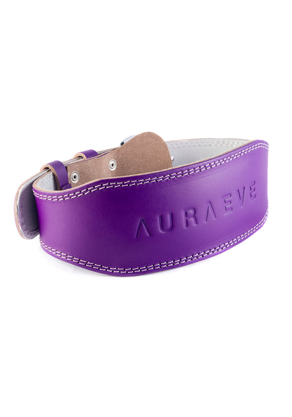 Violet Leather Booty Belt - Booty Bands and Activewear