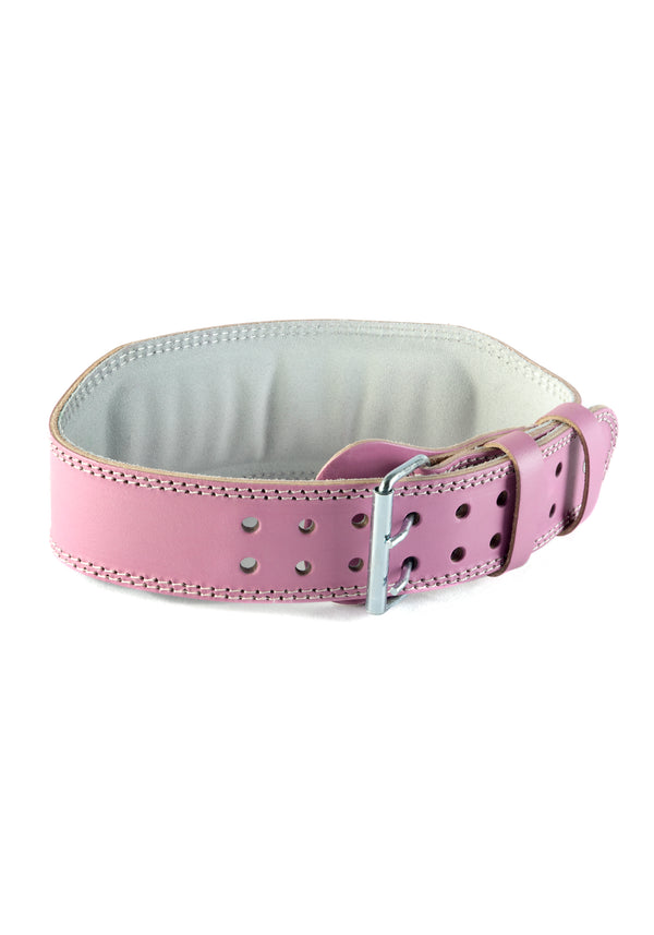 Lilac Leather Booty Belt
