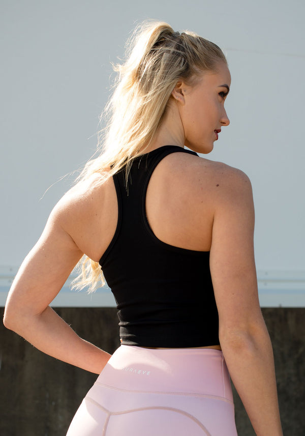 Midnight Layla Singlet - Booty Bands and Activewear