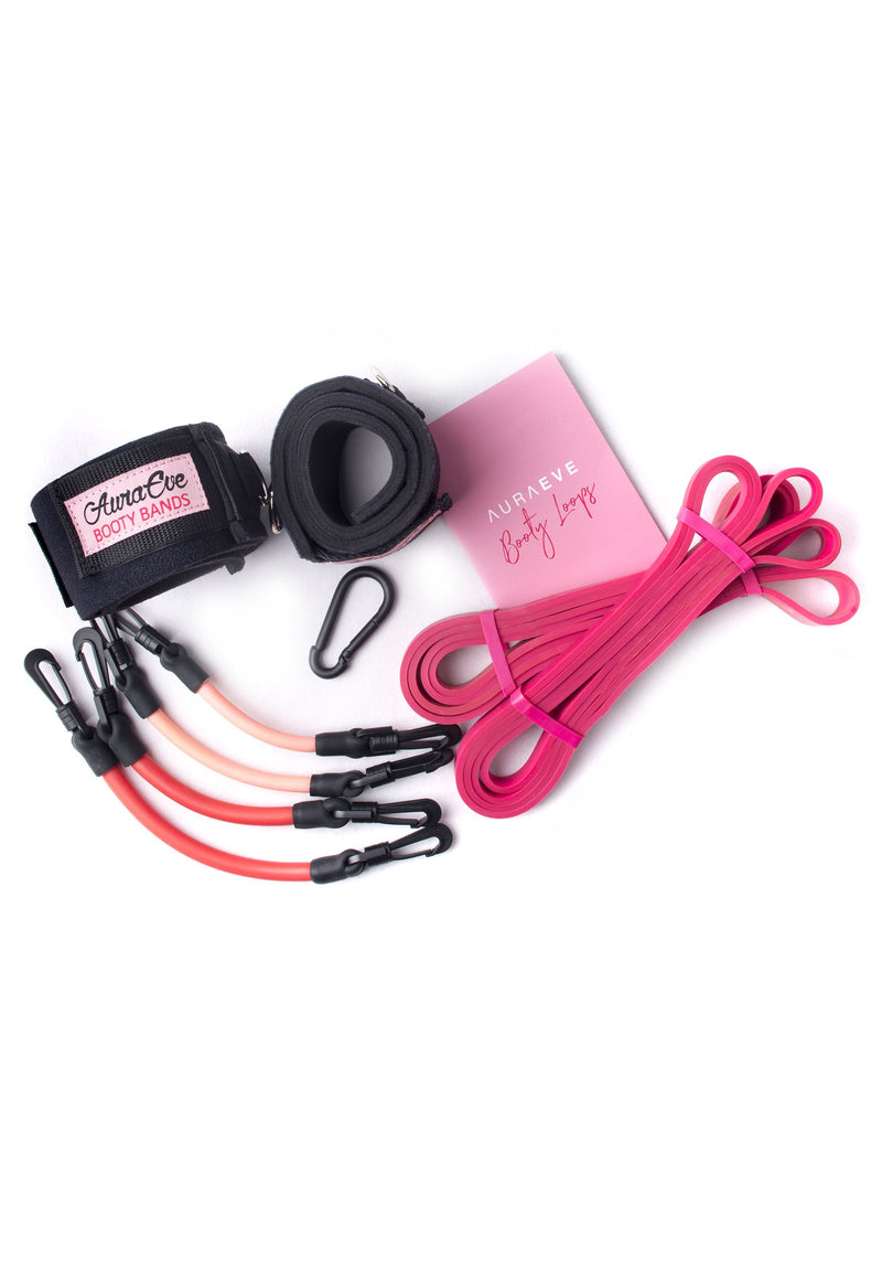 Pink Booty Bundle Set - Booty Bands and Activewear