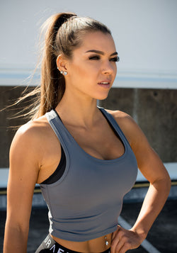 Stone Layla Singlet - Booty Bands and Activewear