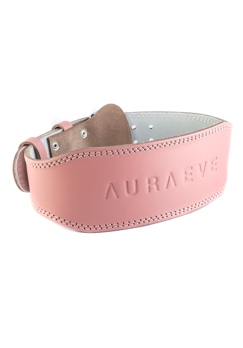Peach Leather Booty Belt