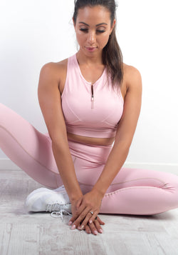 Blossom Heart Sports Bra - Booty Bands and Activewear