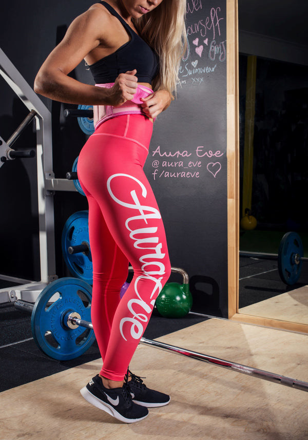Watermelon Foundation Leggings - Booty Bands and Activewear