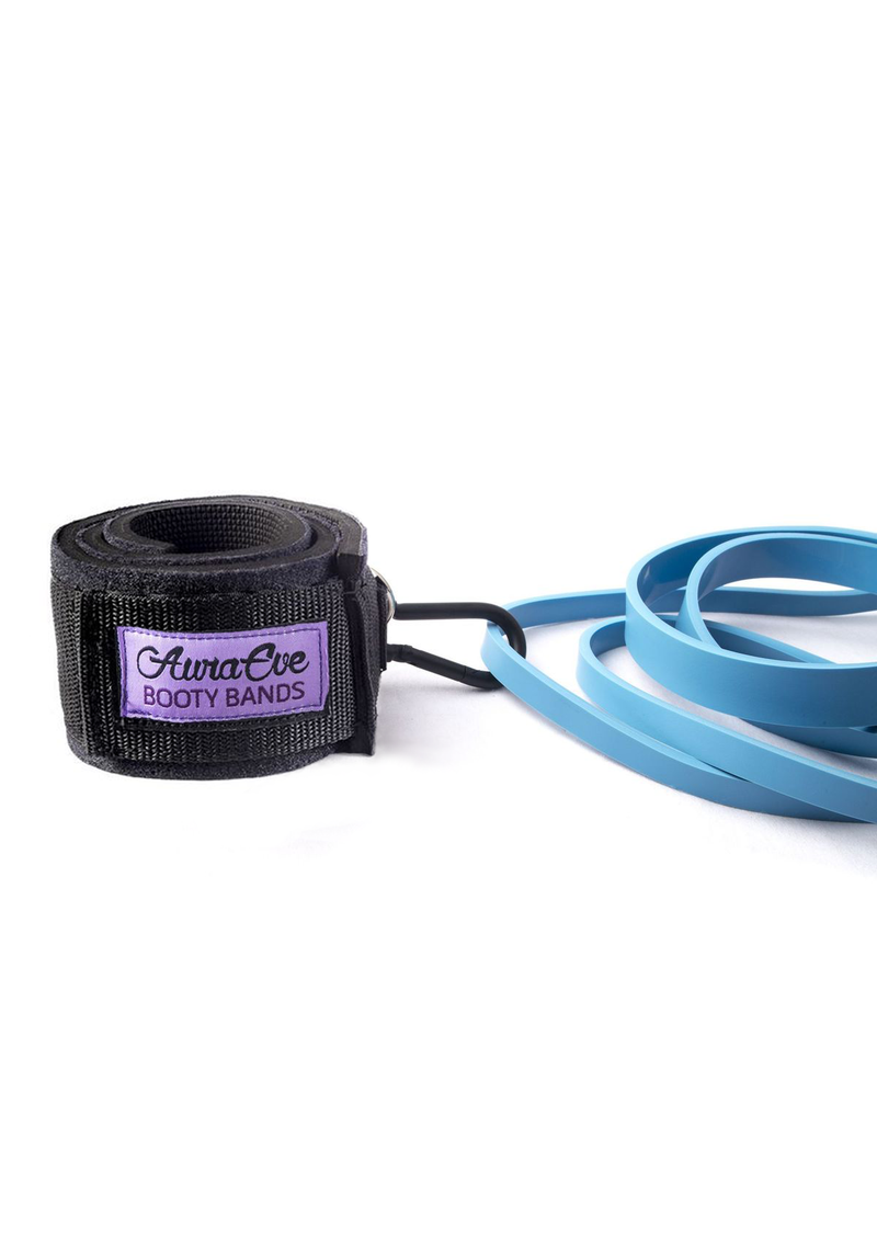 NEW Purple Booty and Blue Resistance Loops Bundle Set - Booty Bands and Activewear