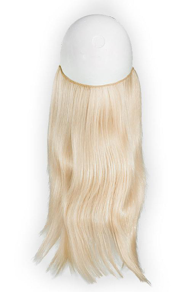 "Effortless Extensions – Hair Extension On A Wire, Synthetic Hair,16"" Straight,140 Grams, Marilyn"