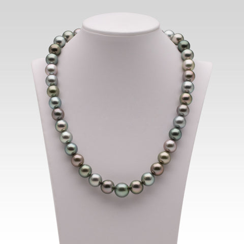 10-11.8mm Multi-coloured Tahitian Pearl Strand