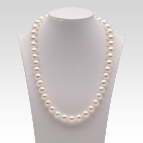 10-11mm White Freshwater Pearl Strands
