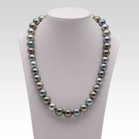 10-13.2mm Multi-coloured Tahitian Pearl Strand