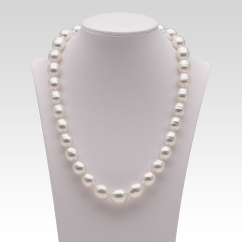 10.2-12.5mm White South Sea Pearl Strand