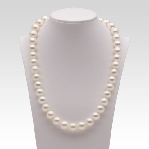 10.5-11.5mm White Freshwater Pearl Strands