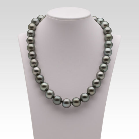 11-13.4mm Grey Tahitian Pearl Strand