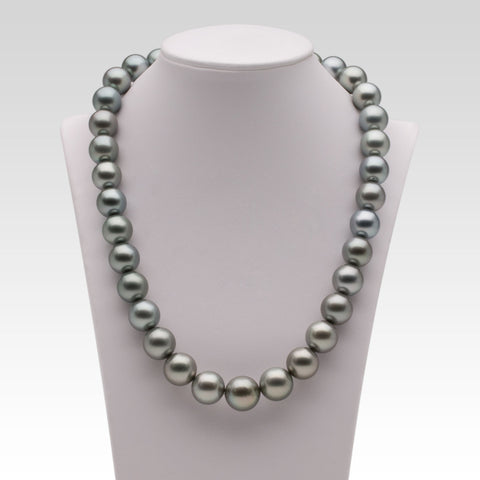 11.5-14mm Grey Tahitian Pearl Strand