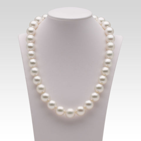12-14.1mm White South Sea Pearl Strand