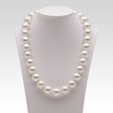 13-14.8mm White South Sea Pearl Strand