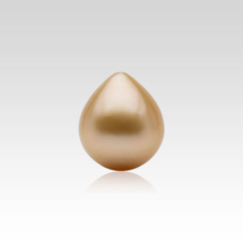 13.1-14.6mm Loose Drop Golden South Sea Pearl
