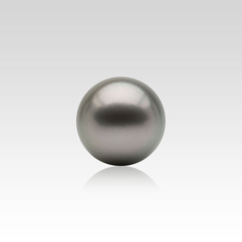 13.5-14mm Loose Light Grey Tahitian Pearls
