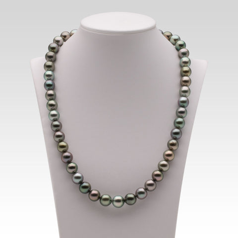 8.5-10mm Multi-coloured Tahitian Pearl Strand