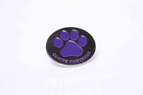 Paw Print Pin Badge