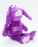 Boggie the Bunny plush dog toy