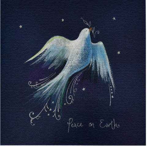 Christmas cards - Dove (pack of 10 cards)
