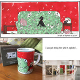 Tottering by Gently® Mug – 'I'm just as surprised as you are'