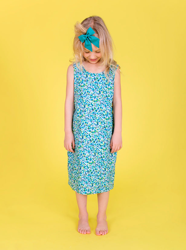SS17 Matilda dress - Meadow ditsy floral