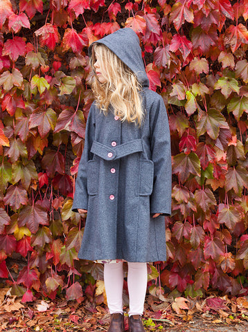 Keepsake Coat - Ash Wool
