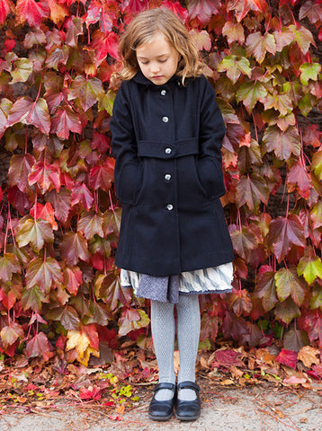 Keepsake Coat - Black Wool