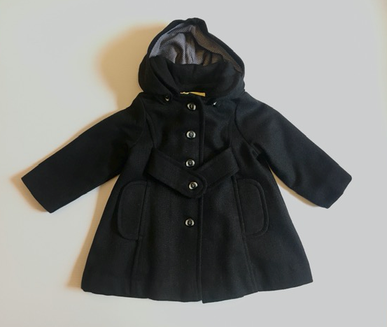 Last one - Keepsake Coat - Black Wool - sz 2