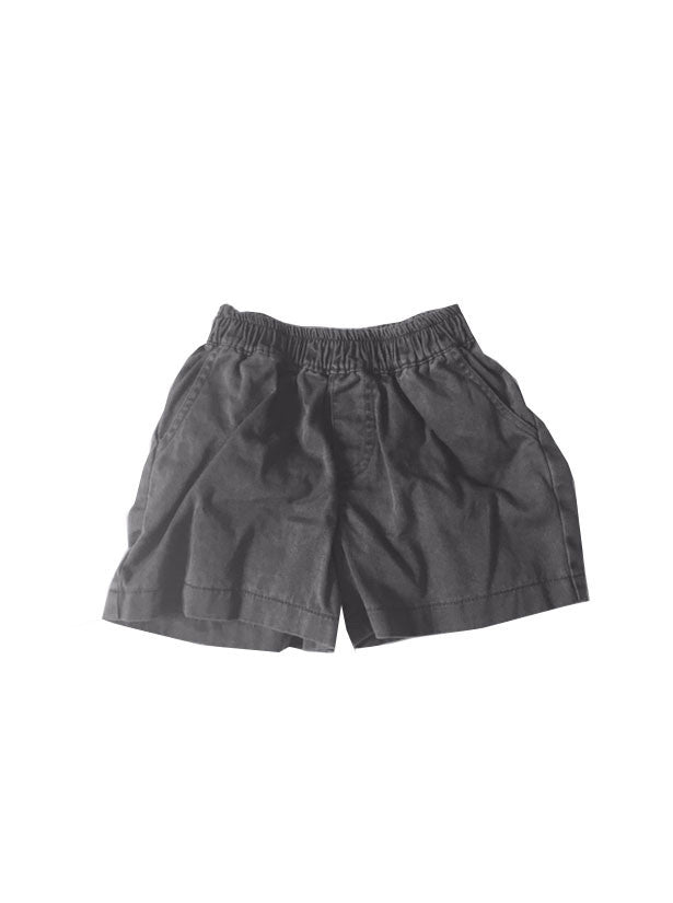 Pigment Wash Charlie Shorts - Coal