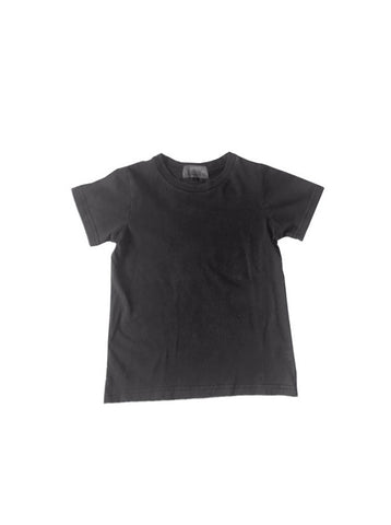 LAST ONE - Pigment Wash Tee - Coal- sizes 8