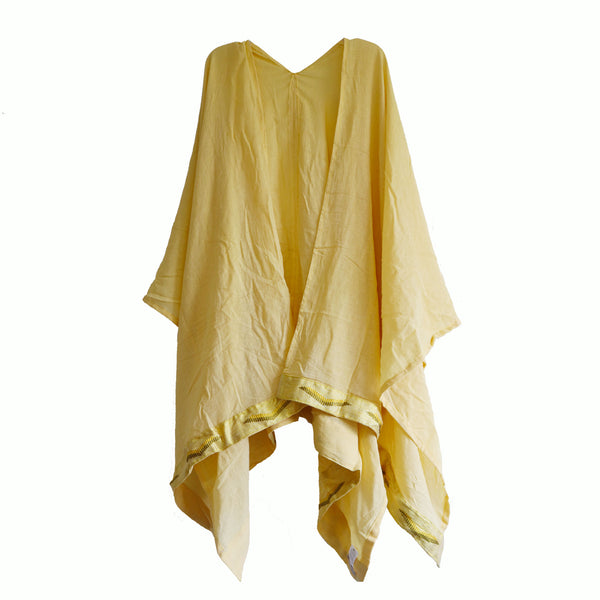 Sunshine cotton poncho