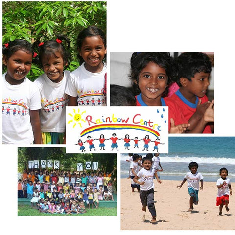 Mintycoco donates to the Rainbow Children's Centre in Sri Lanka