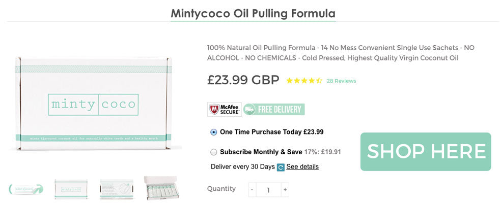 Shop Mintycoco Oil Pulling Kits