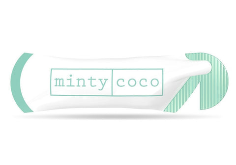 mintycoco Coconut Oil Pulling Sachets Mintycoco Advanced Oil Pulling - For You & A Buddy - 2 Boxes coconut oil pulling therapy mouthwash shark tank noosa help stop gum disease get whiter teeth