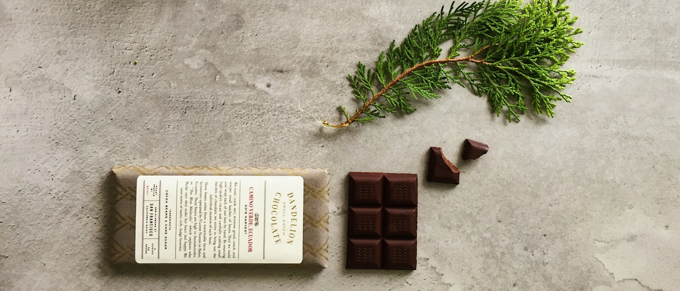 Dandelion Single Origin Dark Chocolate