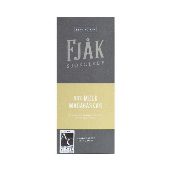 Fjåk - Milk Chocolate - Madagascar 60%