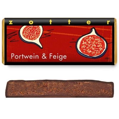 Portwine and Fig | Zotter Chocolate Bar