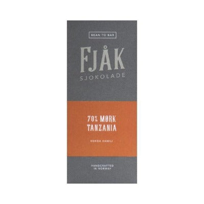 Dark Chocolate - Fjak Tanzania | Bean-to-bar Chocolate