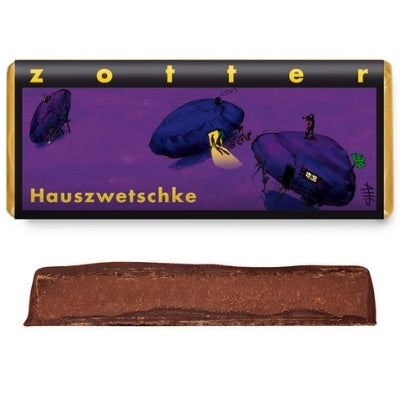 Brandy Chocolate - Zotter Plum | Hello Chocolate Delivery