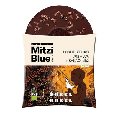 Dark chocolate with Nibs - Zotter | Fun Chocolates