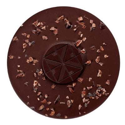 Dark Chocolate with Cacao Nibs - Zotter | Vegan Chocolates Online