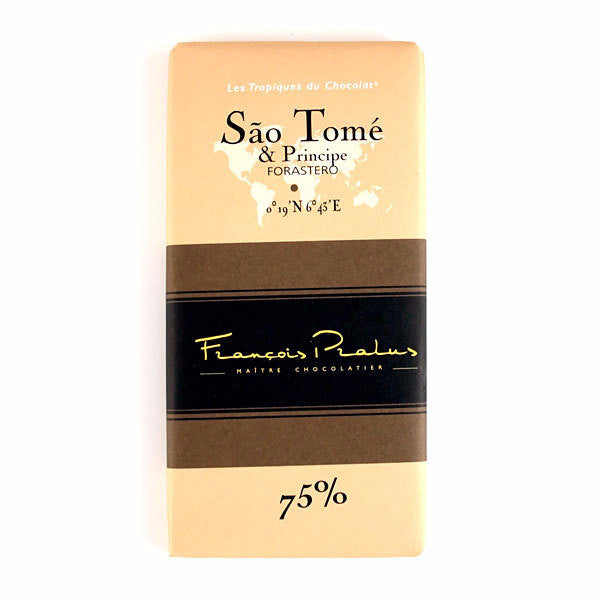 Pralus Chocolate - Sao Tome 75% - HelloChocolate®- Featured Products